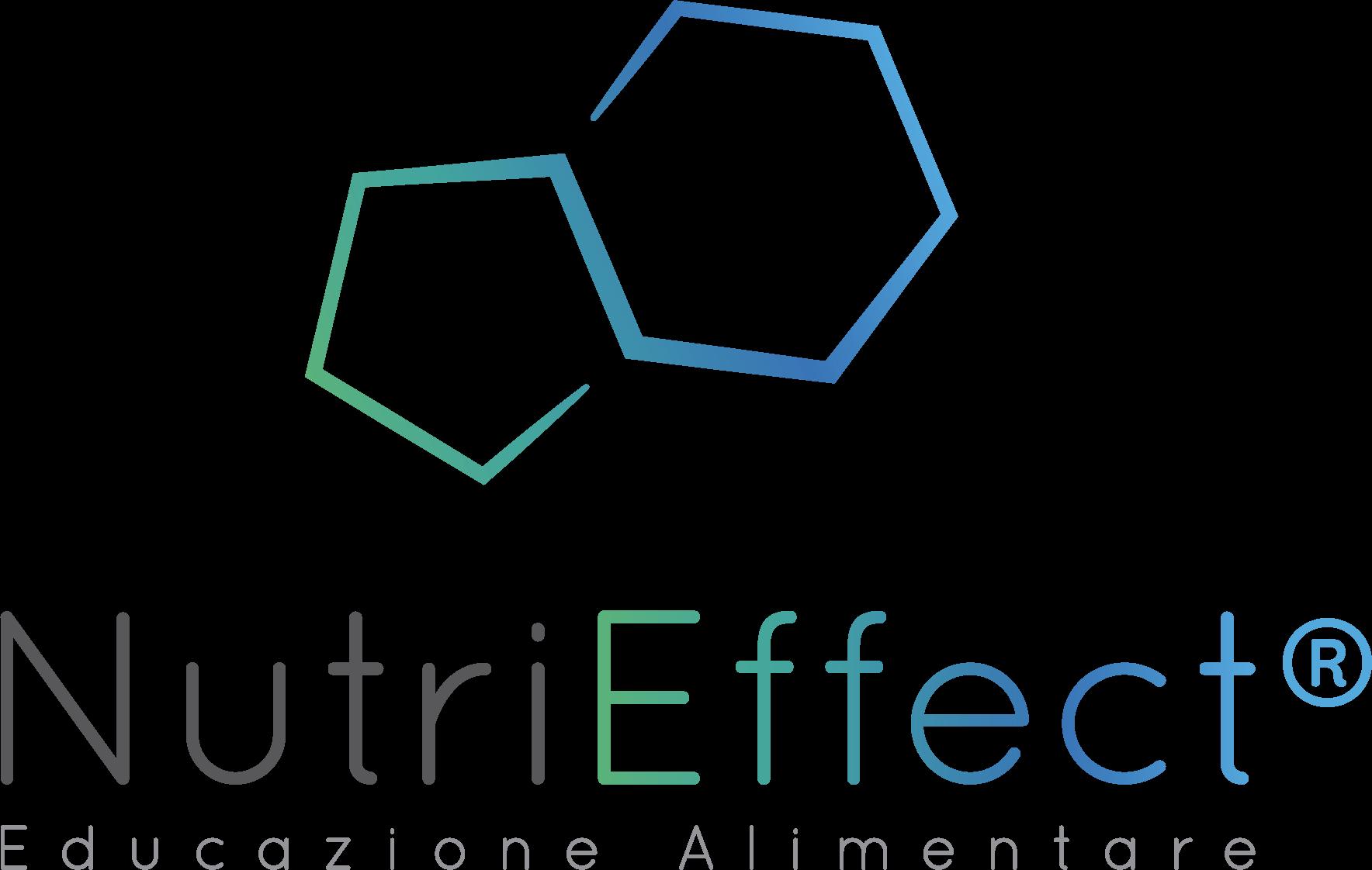 Logo NutriEffect - Educazione Alimentare - Marchio Registrato